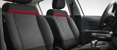 Sieges nouvelle citroen C3, new seats